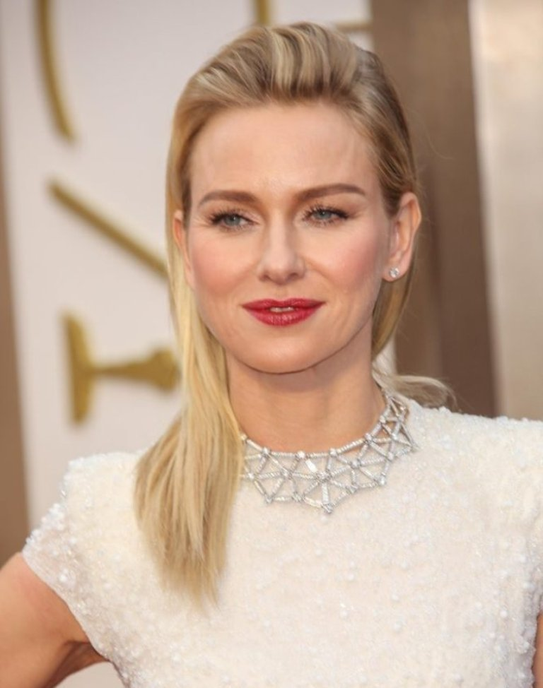 naomi-watts-straight-blonde-hairstyle Hottest 14 Celebrity Summer Hair Trends 2019
