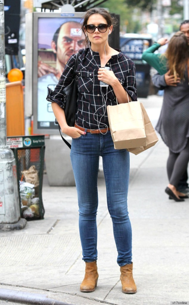o-KATIE-HOLMES-570 Top 10 Celebrity Casual Fashion Trends for 2019