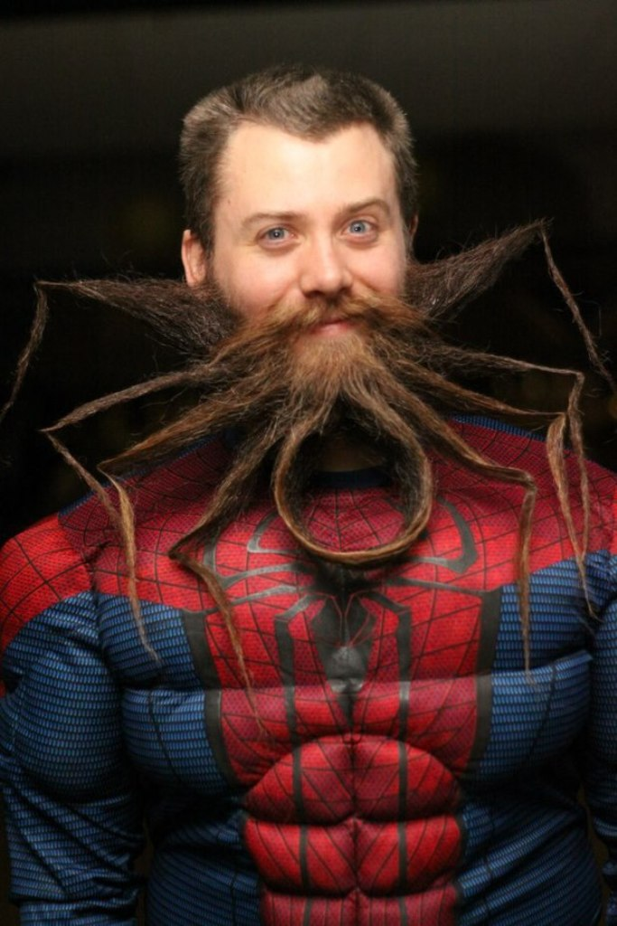 odd_spider_beard 25 Crazy and Bizarre Beard and Moustache Styles