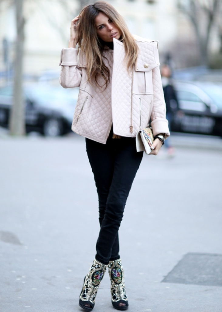 pfw-fall-2014-street-style-shoes-3 20 Elegant Jacket & Coat Trends for Fall & Winter 2020