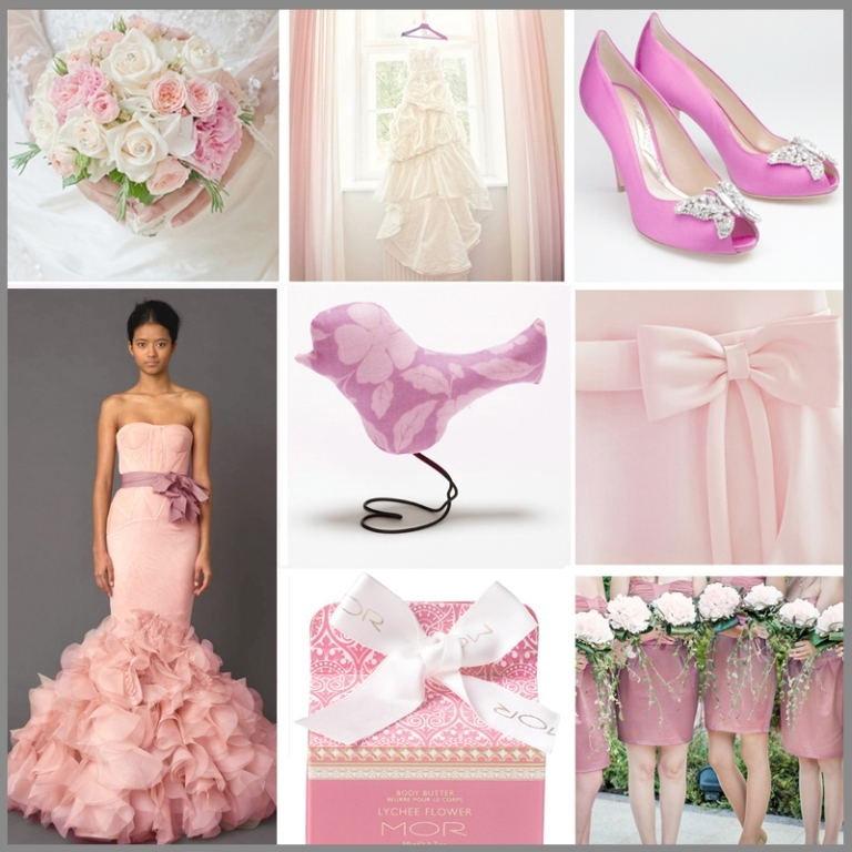 pink-wedding Top 10 Modern Color Trends for Weddings Planned in 2019