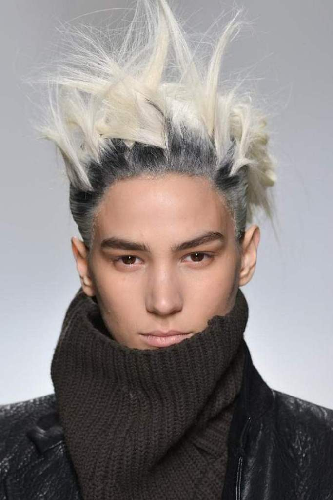 punk-hairstyle-2014-men-popular 20+ Best Chosen Men's Hair Color Trends for 2019