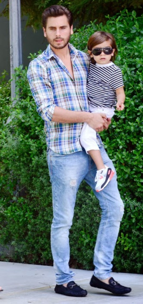 scott-disick-and-family Top 15 Celebrity Men's Fashion Trends for Summer