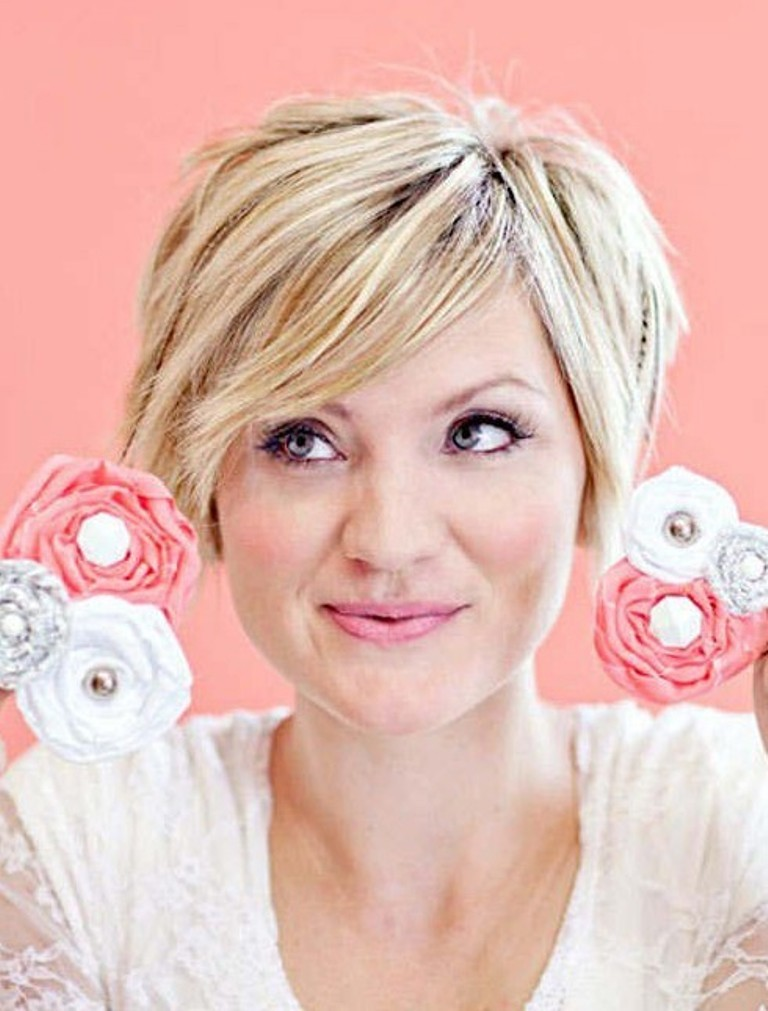 short-hairstyles-for-round-faces-2014-19 25+ Short Hair Trends for Round Faces Chosen for 2019