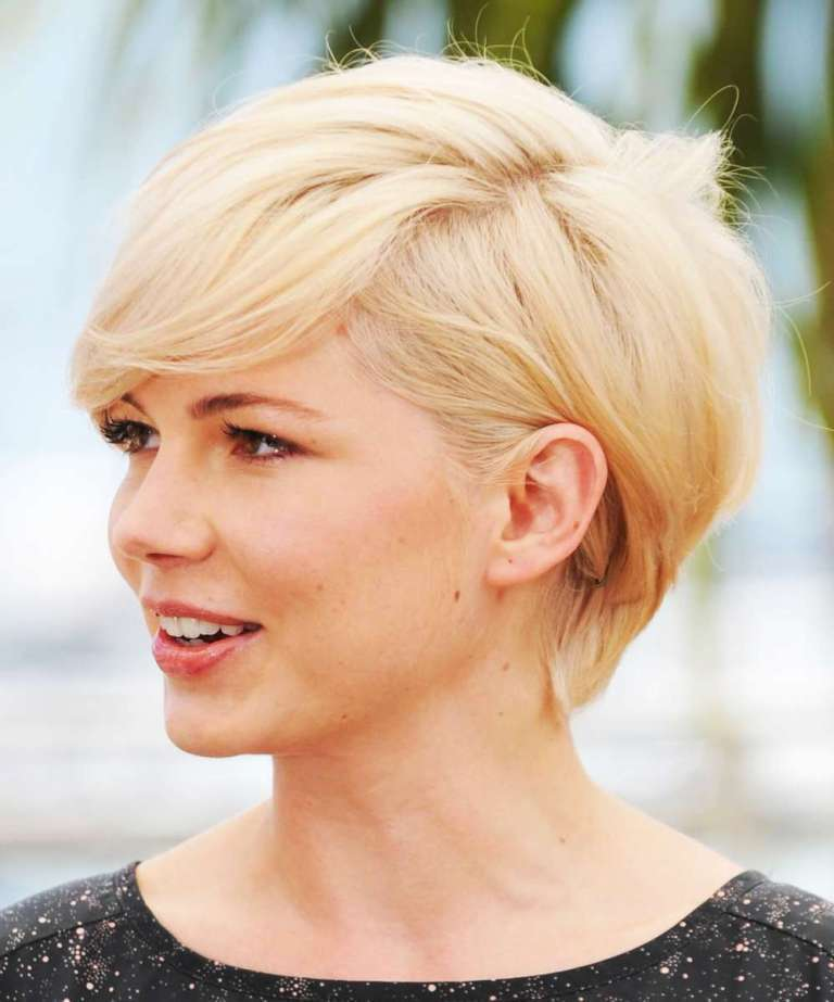 short-hairstyles-for-round-faces-2014 25+ Short Hair Trends for Round Faces Chosen for 2019
