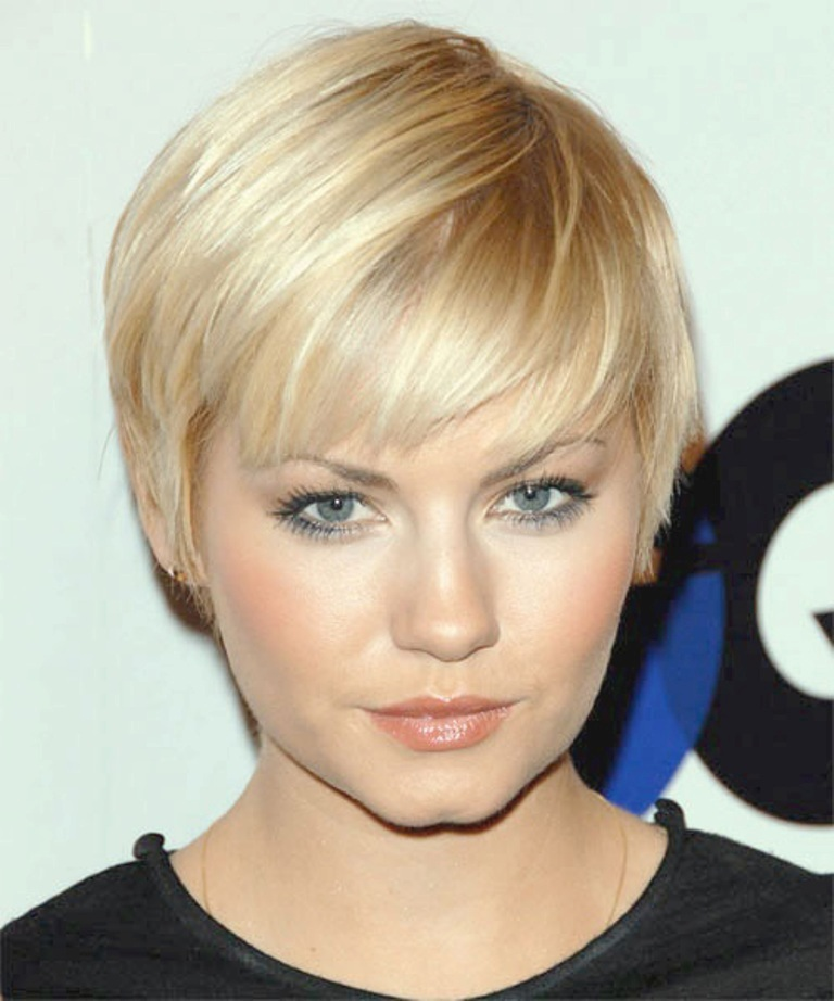 short-hairstyles-for-round-faces 25+ Short Hair Trends for Round Faces Chosen for 2020