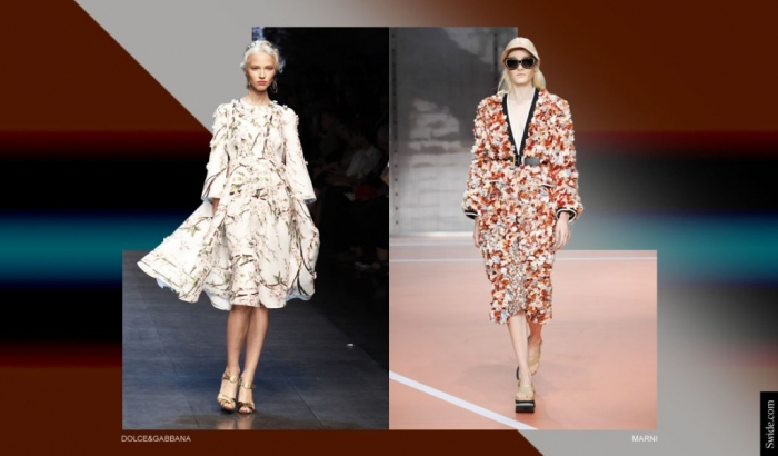 spring-summer-2014-fashion-trends-for-women-flowers-print-dresses-3-d-effects Top 12 Hottest Women's Color Trends Coming for 2019