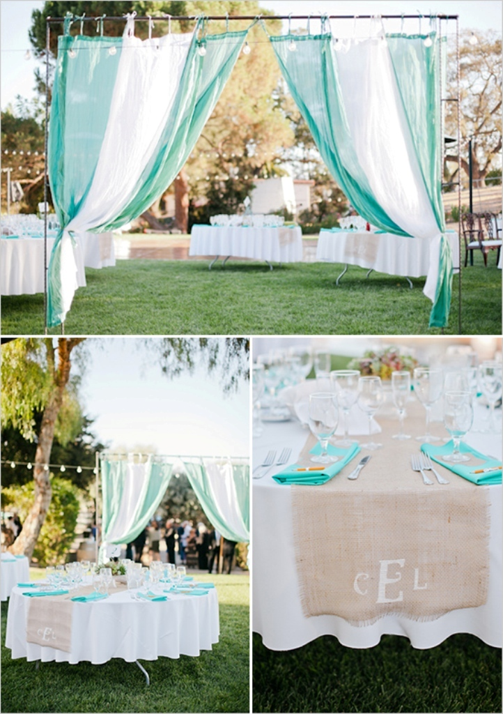 teal_wedding_ideas Top 10 Modern Color Trends for Weddings Planned in 2019