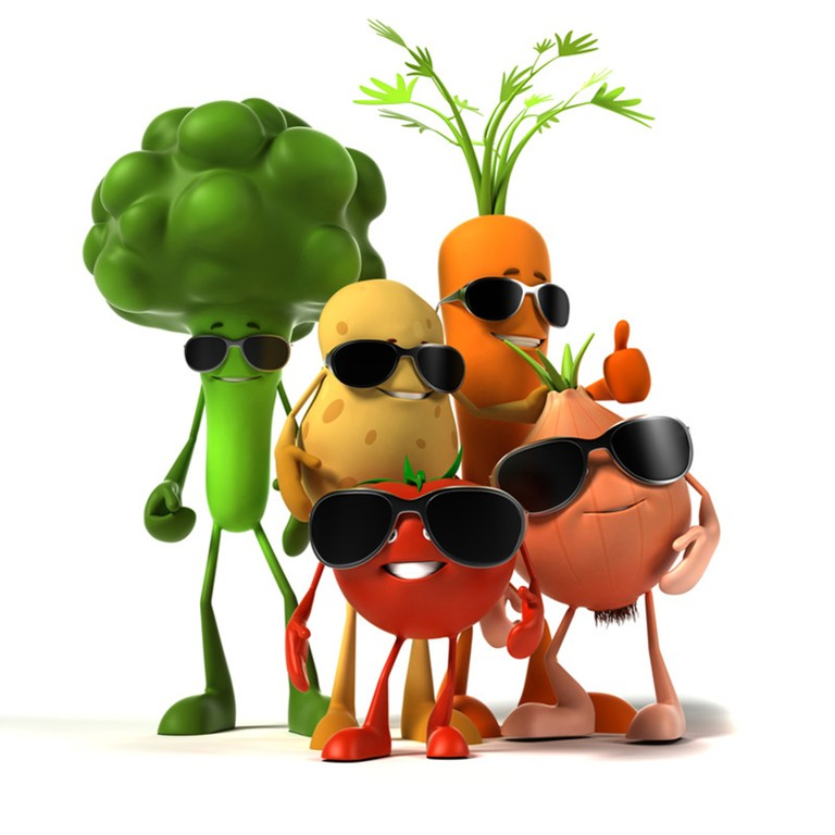 veggies-with-sunglasses1 15 Healthiest Food Trends You Must Follow in 2019