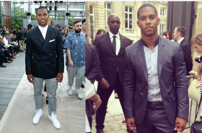 victor-cruz-fashion-suit-paris-fashion-week-menswear-louis-vuitton-spring-2014-valentino-show-spring-2014 35+ Latest European Fashion Trends for Spring & Summer 2019