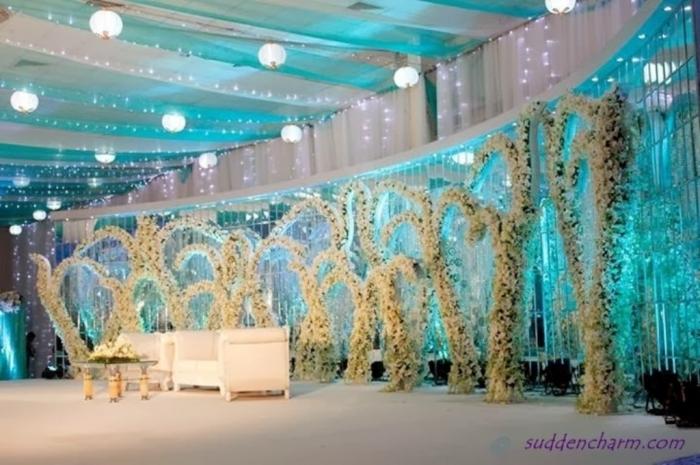 wedding-stage-5 25+ Breathtaking Wedding Decoration Ideas in 2020