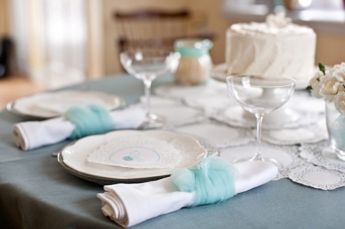 white-aqua-jade-wedding-ideas Top 10 Modern Color Trends for Weddings Planned in 2019
