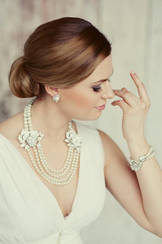 2222vintagebridaljewelryallysonjames 25 Unique Necklaces For The Bridal Jewelry
