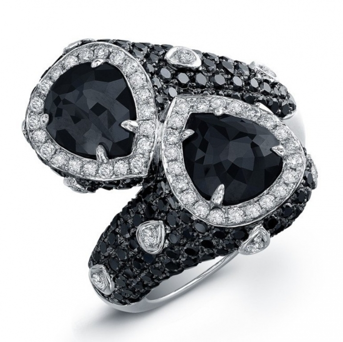 22914blk-w_1 Top 25 Rare Black Diamonds for Him & Her