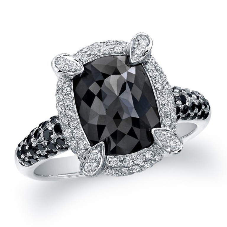 23053bkrc-w1 Top 25 Rare Black Diamonds for Him & Her