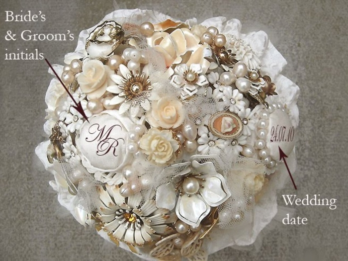 4 How to Design Your Brooch Bouquet