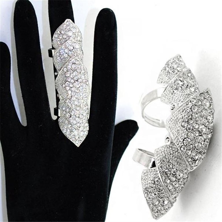 """61QzA5Uaf6L._UL1500_ 25 Awesome & Affordable Full Finger Rings """"Armor Rings"""""""