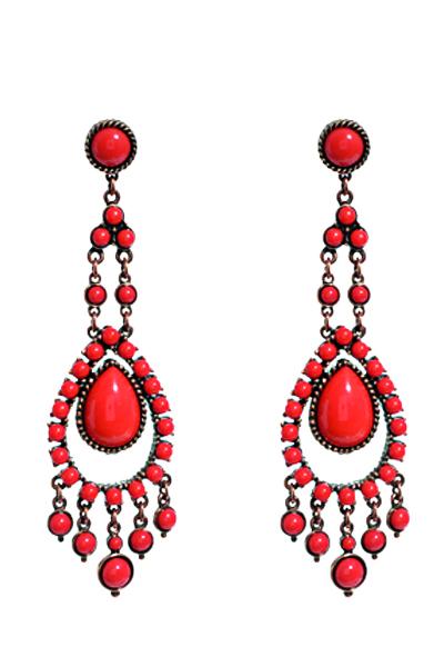 Ben-Amun-earrings 7 Tips On Choosing Beach Wedding Accessories