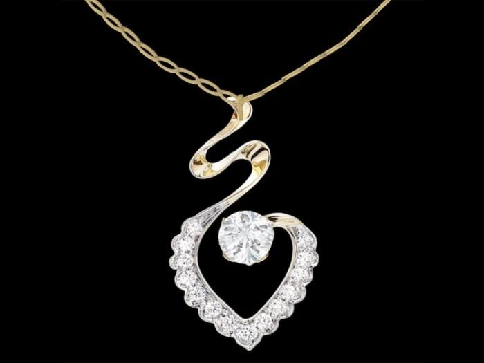 DiamondHeartNecklace Why Do Women Love Heart Jewelry?