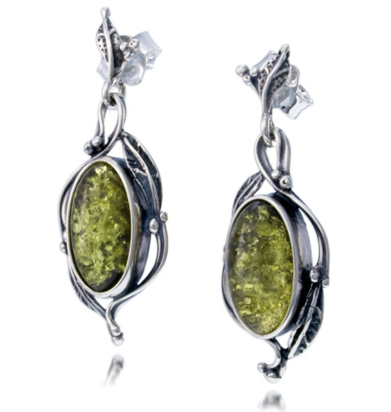EM1431 All What You Need to Know about Green Amber Jewelry