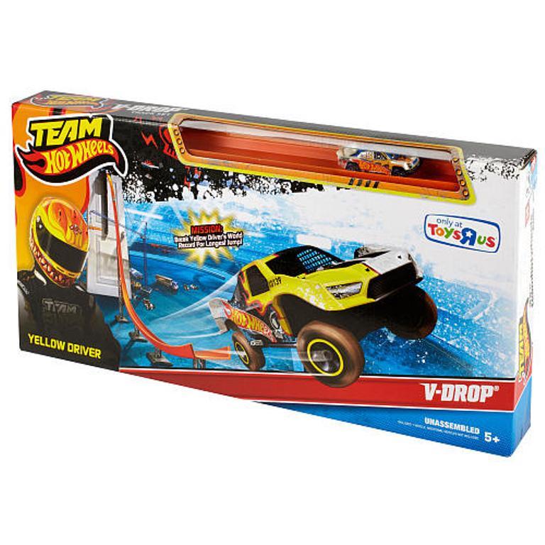Exclusive-Hot-Wheels-Team-Hot-Wheels-Super-Velocity-Track-Set 2014 Hot Wheels Cars Commercial
