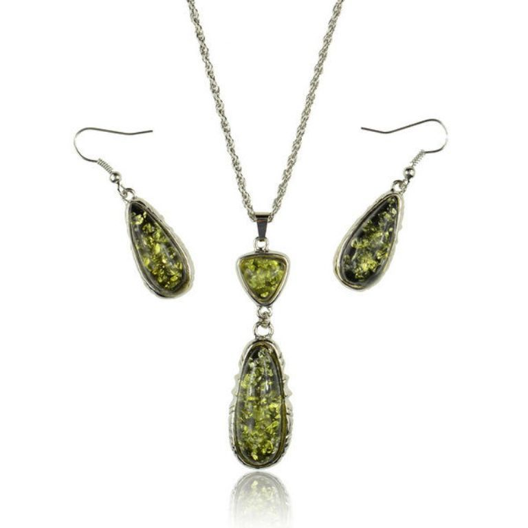 Hefei_Qinxin_jewelry_Wholesale_font_b_Indian All What You Need to Know about Green Amber Jewelry