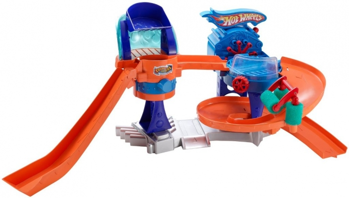 Hot-Wheels-Bubble-Matic-Car-Wash-Play-Set 2014 Hot Wheels Cars Commercial