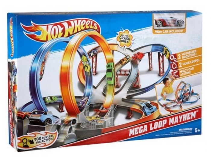 Hot-Wheels-Mega-Loop-Mayhem-Trackset 2014 Hot Wheels Cars Commercial