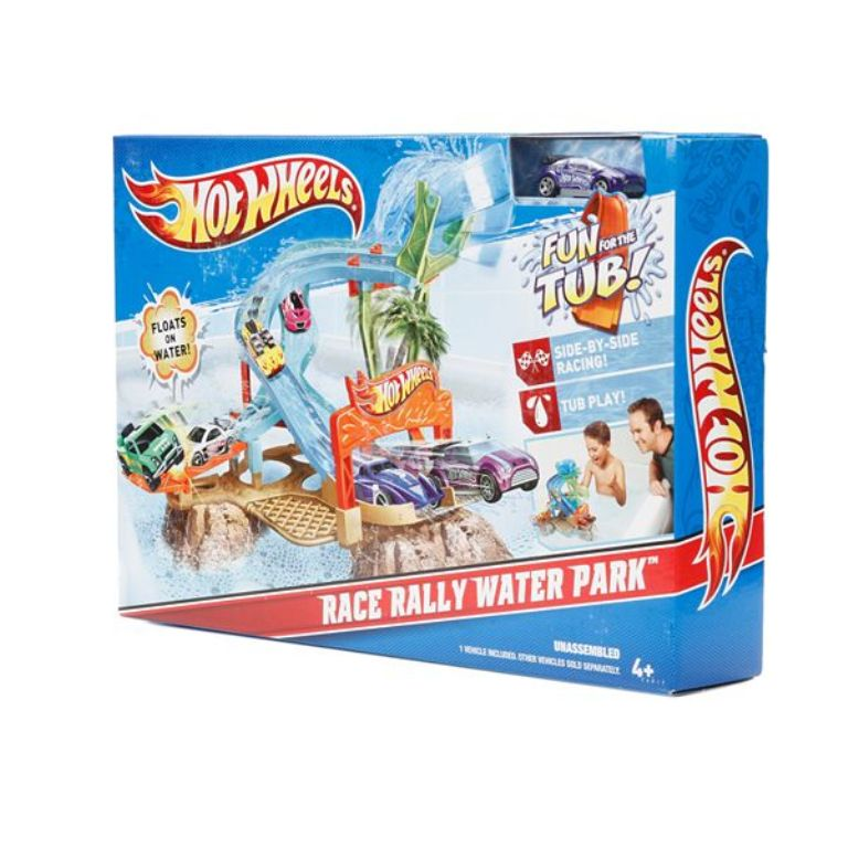 Hot-Wheels-Race-Rally-Water-Park 2014 Hot Wheels Cars Commercial
