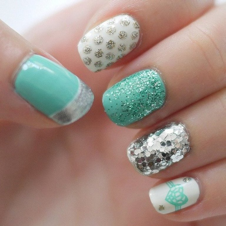Nail-Design-Ideas-Blue 3 Tips to Help You Avoid Bankruptcy