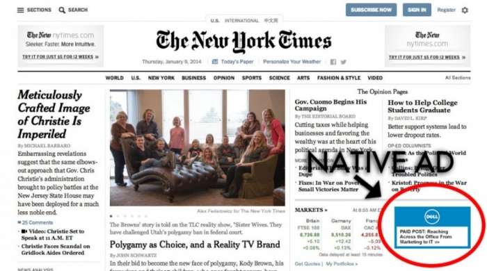 Native-advertising-on-New-York-Times-953x531 Top 10 Trends in the Newspaper Industry
