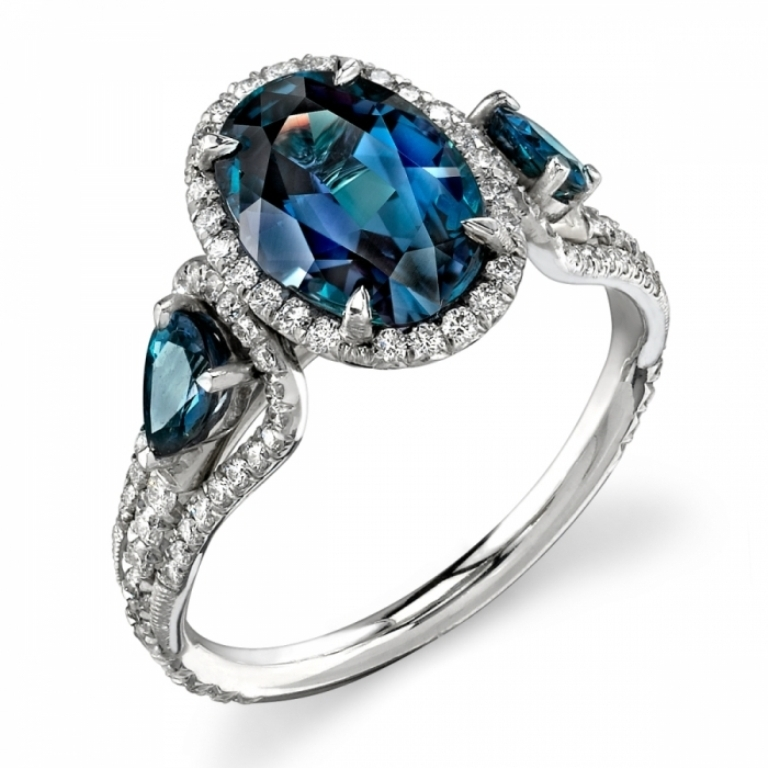 R1094-AlexandriteDiamondRing Alexandrite Jewelry and Its Paranormal Wonders & Properties