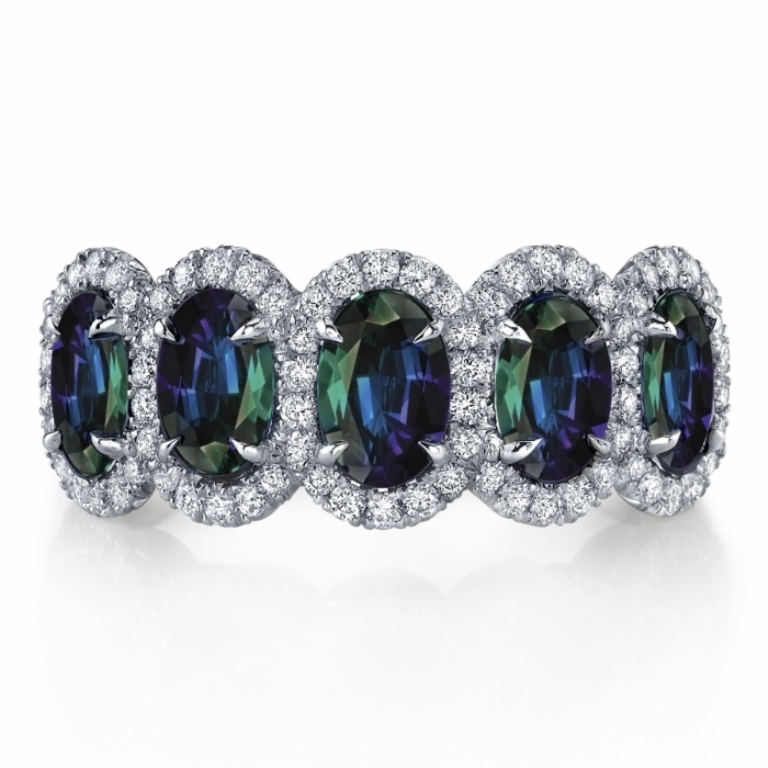 R1268-AlexandriteDiamondRing Alexandrite Jewelry and Its Paranormal Wonders & Properties