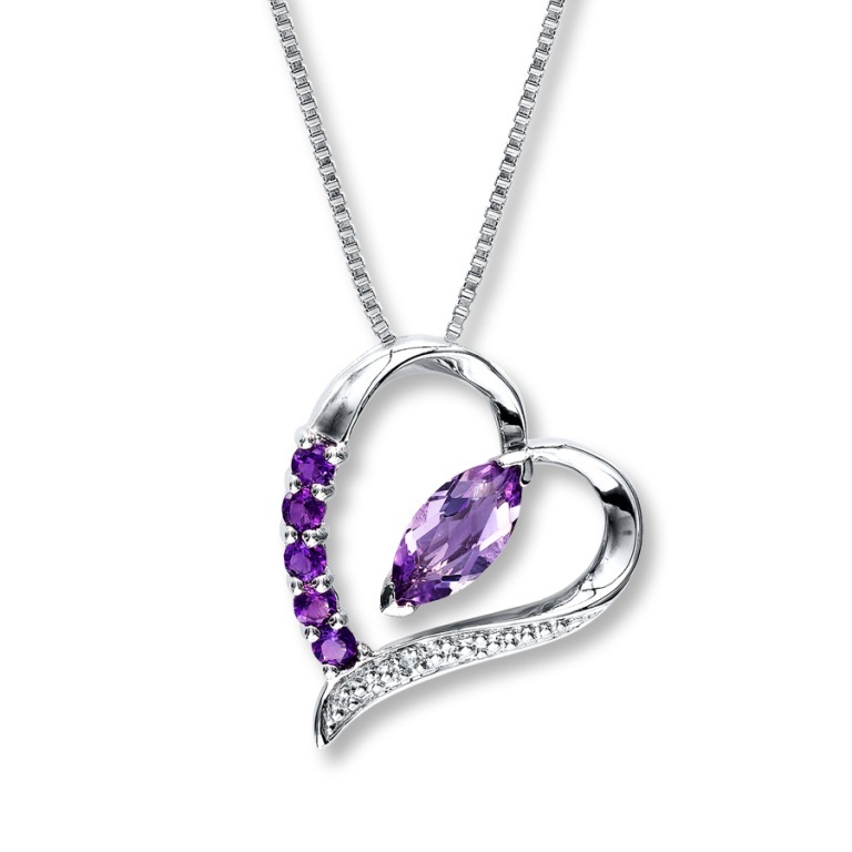 alexandrite-heart-necklace-qgu7xbd9 Alexandrite Jewelry and Its Paranormal Wonders & Properties