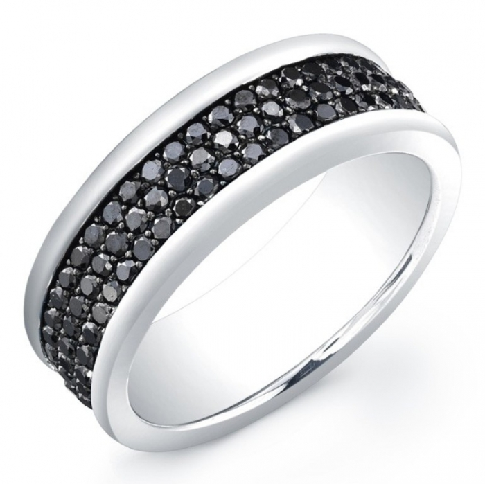 black-diamond-band-7 Top 25 Rare Black Diamonds for Him & Her