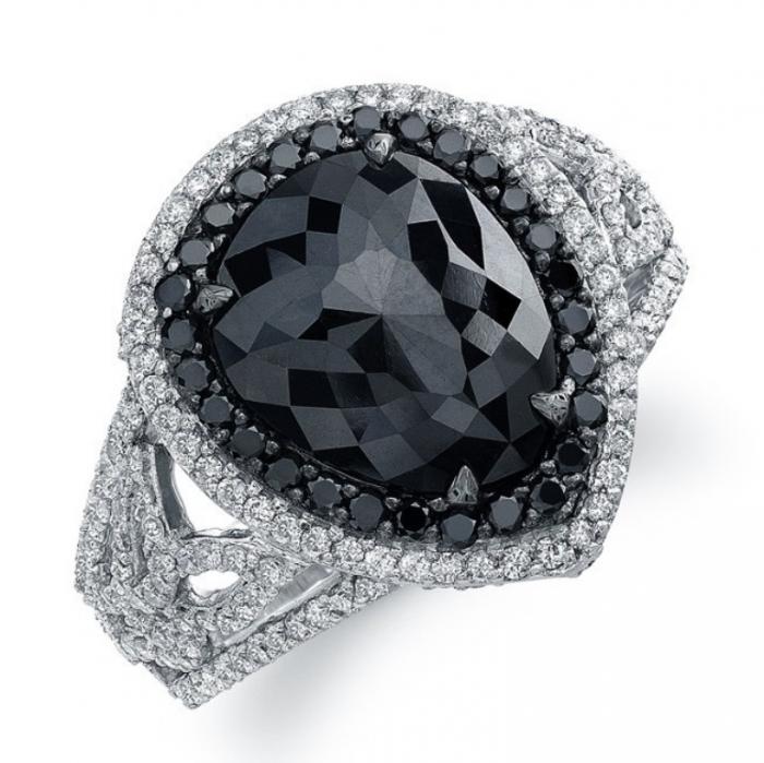 black-diamond-wedding-rings-453 Top 25 Rare Black Diamonds for Him & Her