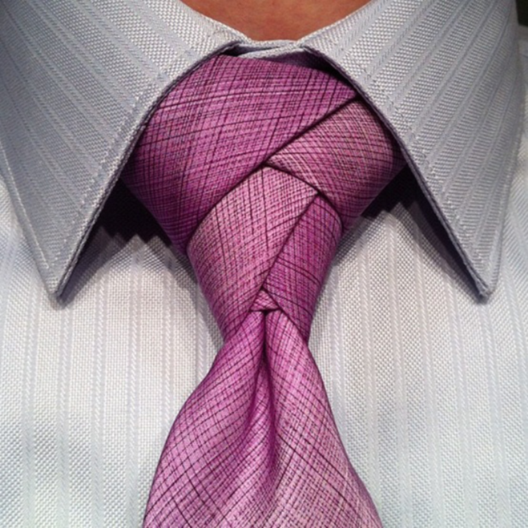 eldredge-knot Different Tie Knots for Men to Be More Handsome