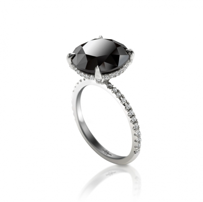 engagement-rings-black-diamonds-3 Top 25 Rare Black Diamonds for Him & Her