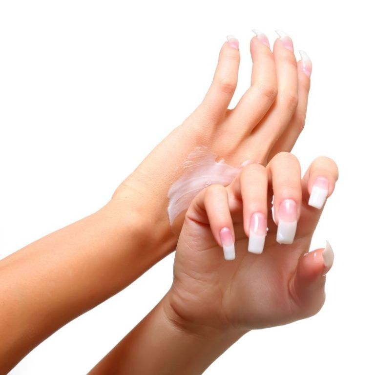 gel-nail-art-beautiful-white-gel-nail-polish-for-long-finger-nails-nail-designs-gel All What You Need to Know about Gel Nails Is Here