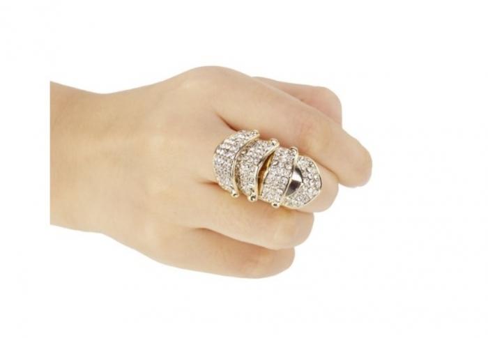 """gold-full-finger-rings-4 25 Awesome & Affordable Full Finger Rings """"Armor Rings"""""""