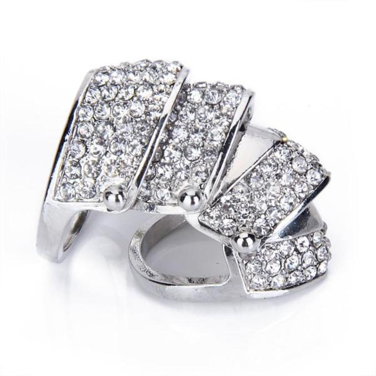 """iw1318993828_image 25 Awesome & Affordable Full Finger Rings """"Armor Rings"""""""