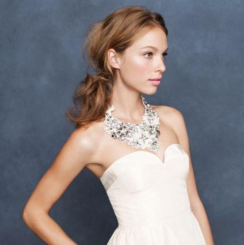 jcrew-bib-necklace 25 Unique Necklaces For The Bridal Jewelry