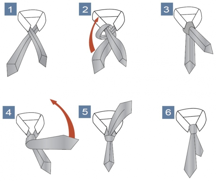 pratt_knot_big Different Tie Knots for Men to Be More Handsome