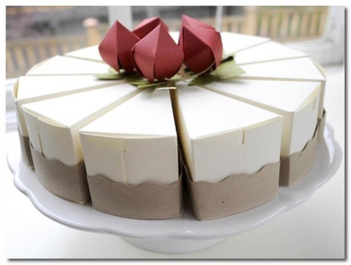 Как сделать торт подарочный