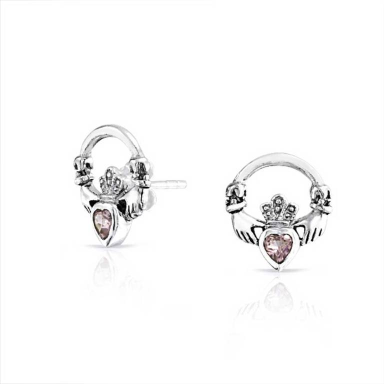 sterling-silver-alexandrite-claddagh-earrings_ps-ter90277-sy Alexandrite Jewelry and Its Paranormal Wonders & Properties