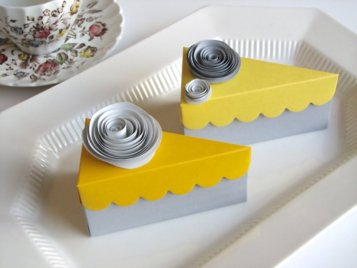 wedding-favor-cake-boxes 25 Cake Boxes for Different Special Events