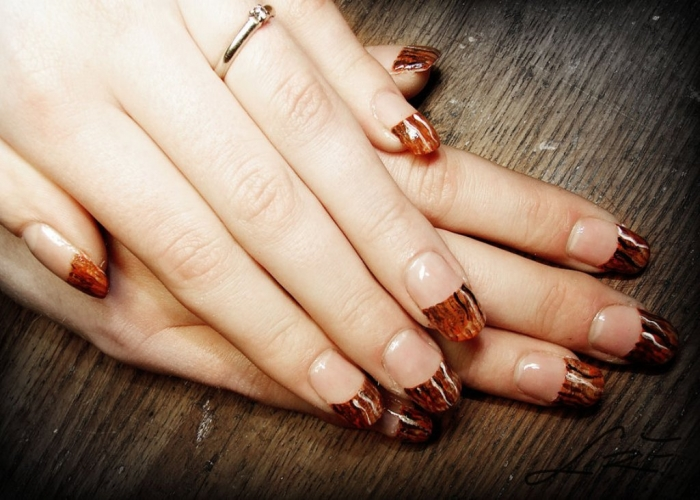 wood_textured_gel_nails_by_undomiele-d5po05p 10 Reasons You Must Use Gel Nails in 2019