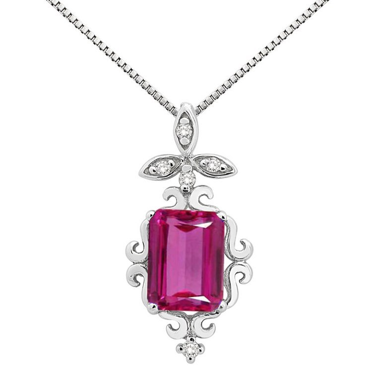 0008486_165ct-shaped-pink-topaz-and-diamond-pendant-in-10k-gold Pink Topaz Jewelry as a Romantic Gift