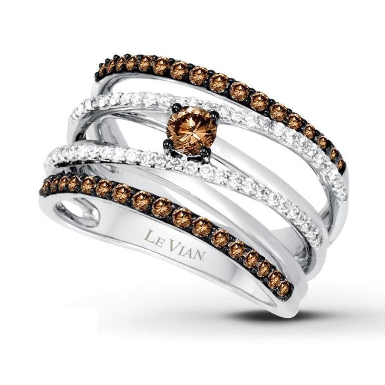 022988000_MV_ZM Chocolate Diamond Rings for a Fascinating & Unique Look