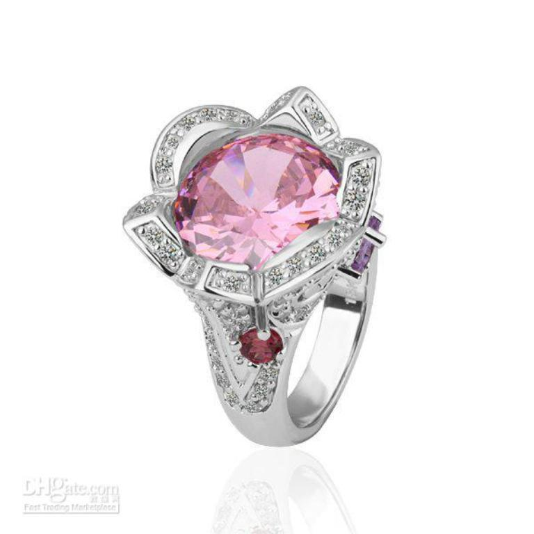 1.0x03 Pink Topaz Jewelry as a Romantic Gift